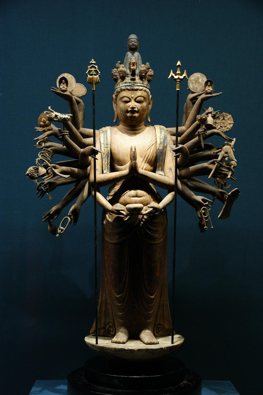 加茂神社(為星寺) 千手観音立像