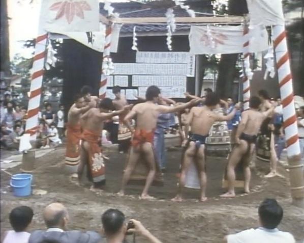 福井県立博物館ビデオライブラリー「阿曽の豊年まつり」より
