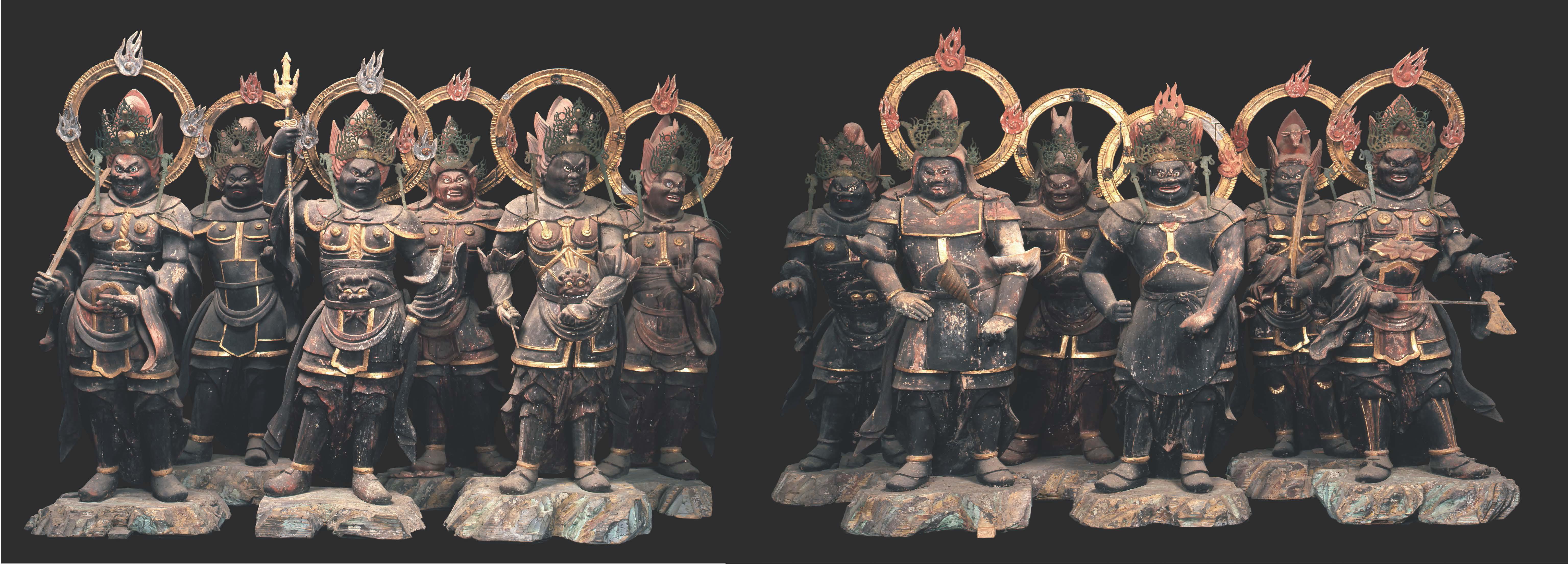十二神将立像(鎌倉時代、明通寺所蔵)