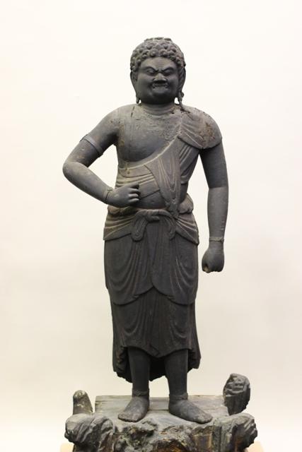 木造不動明王立像(平安時代後期 妙楽寺所蔵)