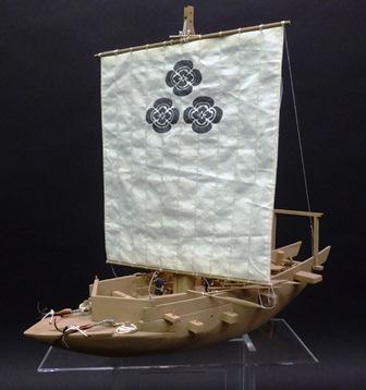 北国船 模型(当館蔵)