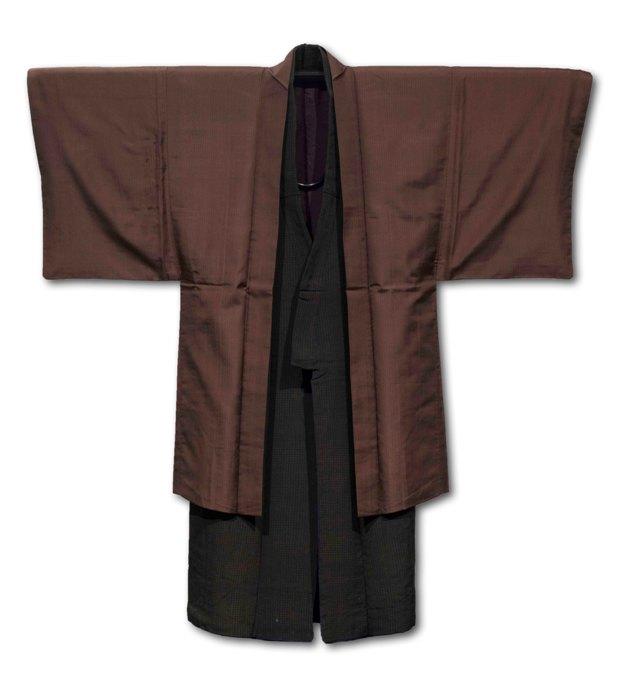 男性用着物と羽織(小浜市小浜大原)