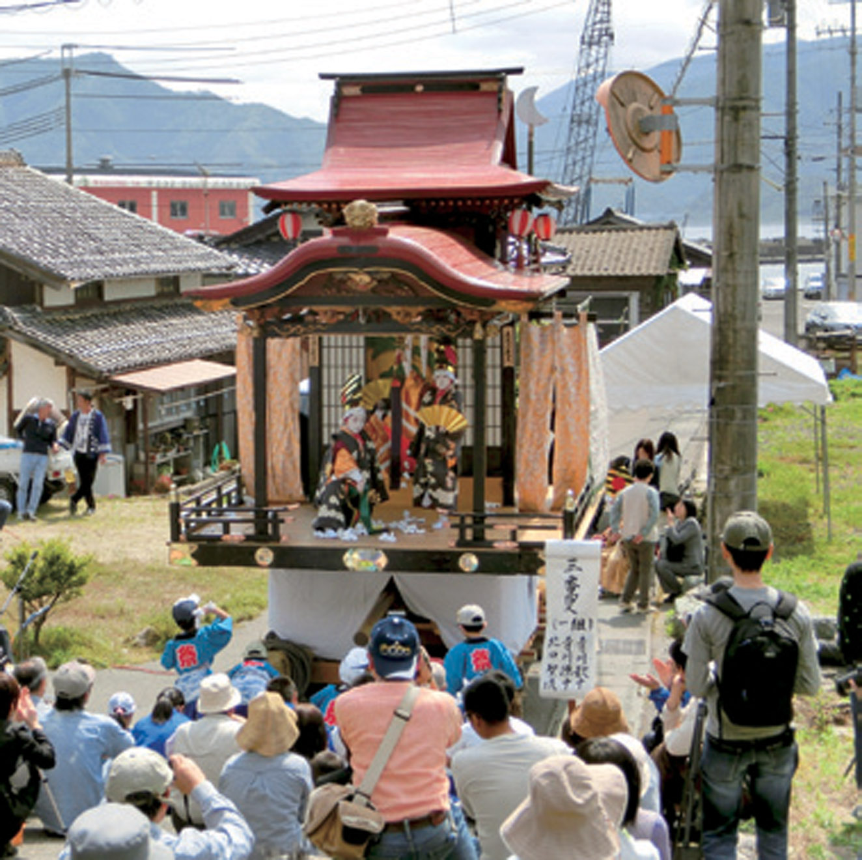ふくい民俗芸能等群認定 「早瀬子供歌舞伎」(美浜町)