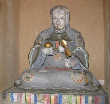 神明神社(小浜市) 八百比丘尼像