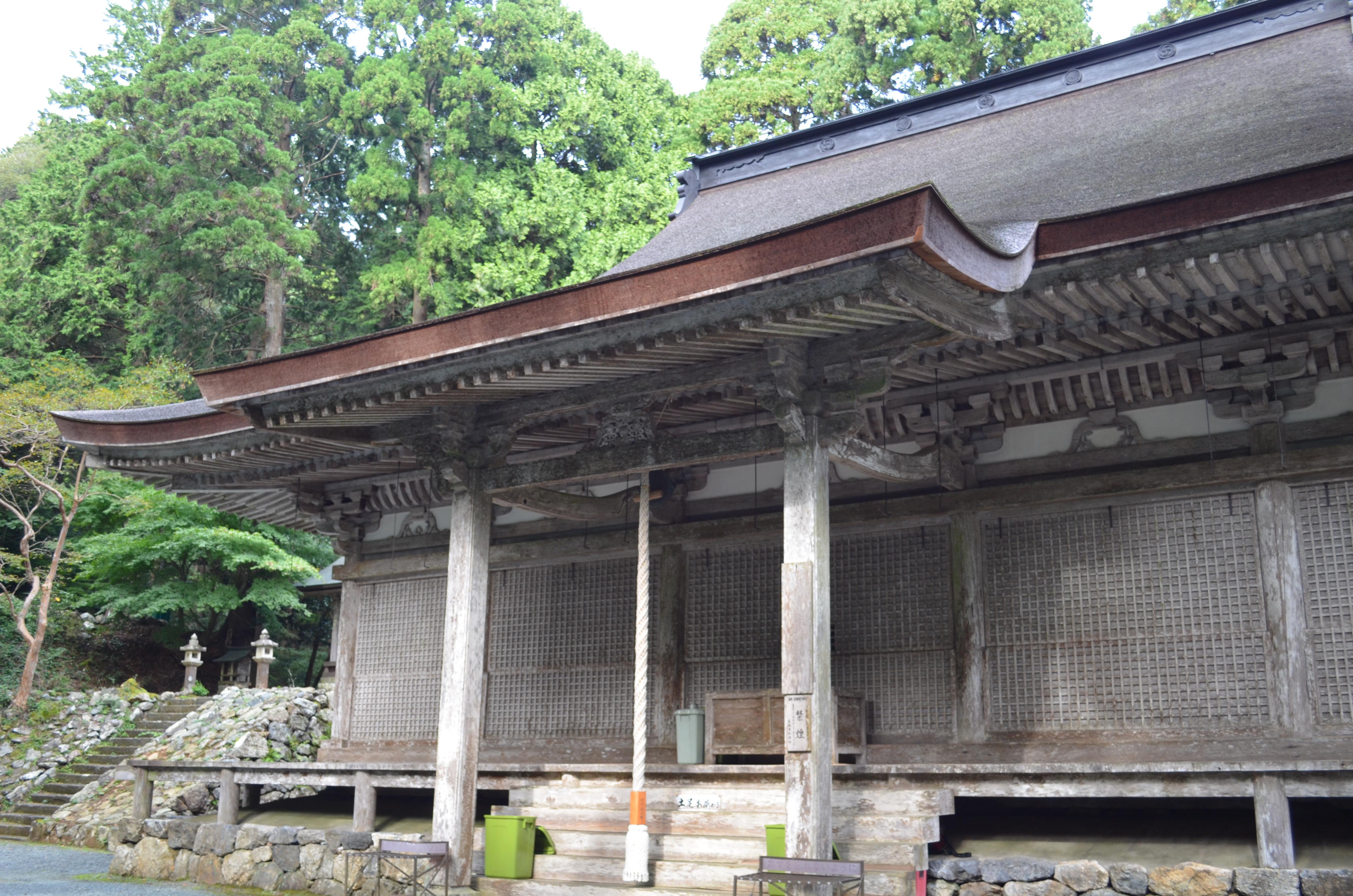 国宝 明通寺本堂(小浜市)