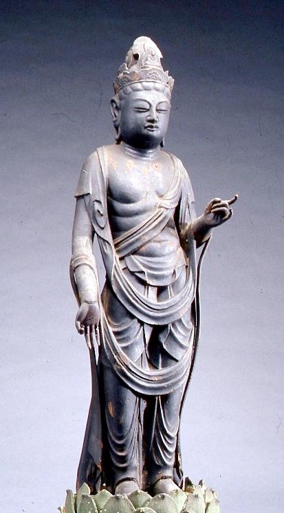 重要文化財 聖観音菩薩立像(美浜町・青蓮寺 展示は10/16まで)