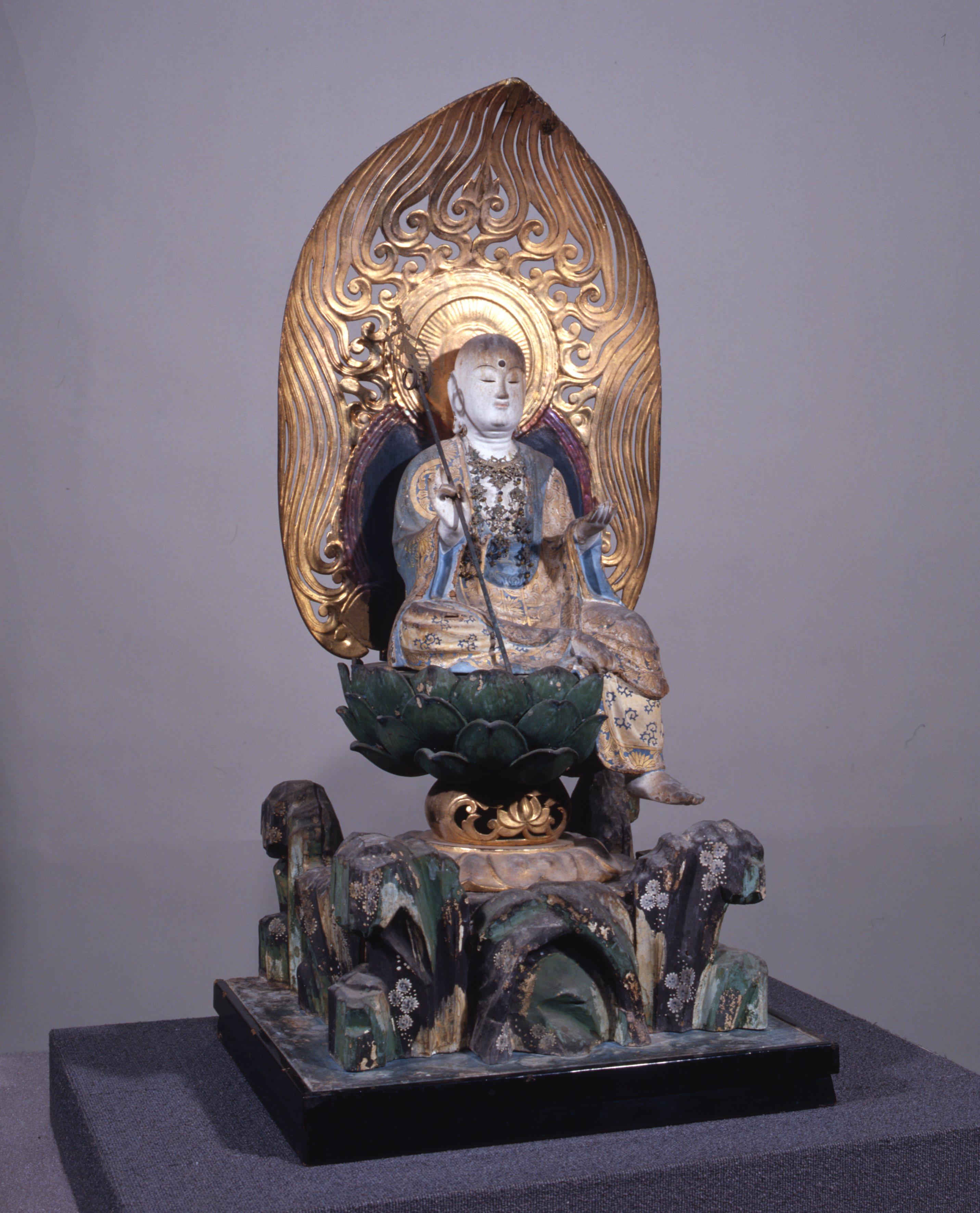 地蔵菩薩半跏像(小浜市・上根来区所蔵)