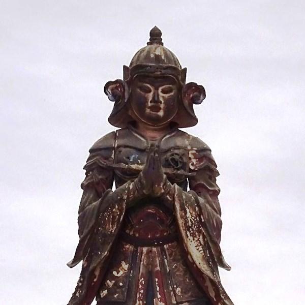 韋駄天像(常高寺、一部)