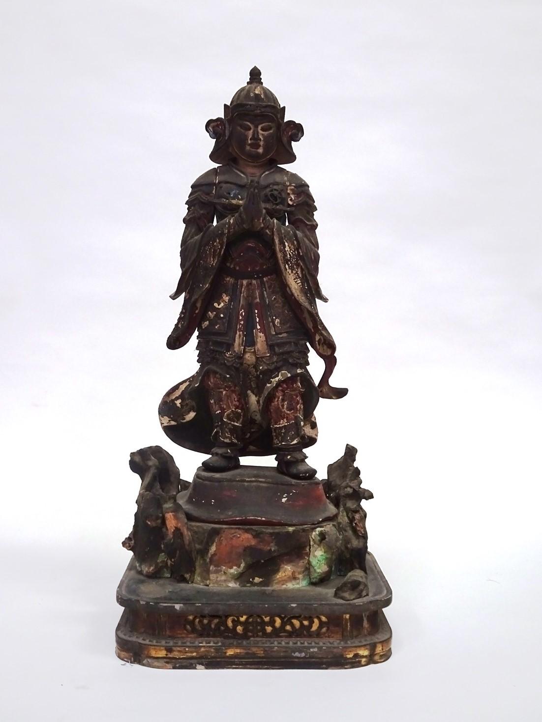 韋駄天像(常高寺)