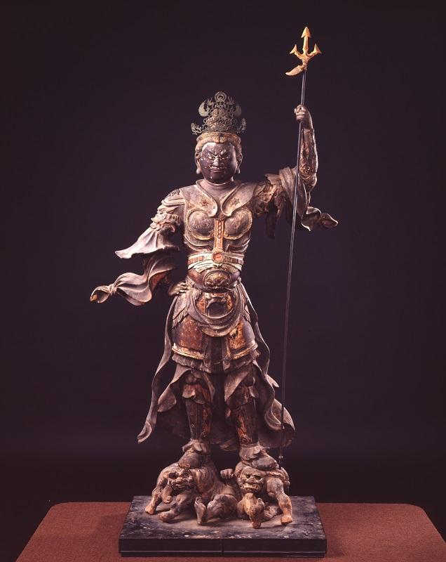 毘沙門天立像(清雲寺蔵)