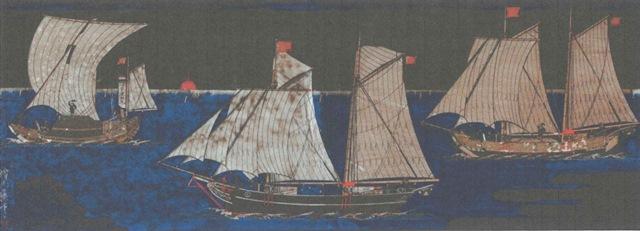 船絵馬(明治39年、個人蔵)