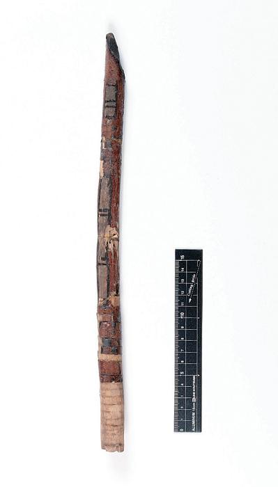 ニシキギ製漆塗弓
