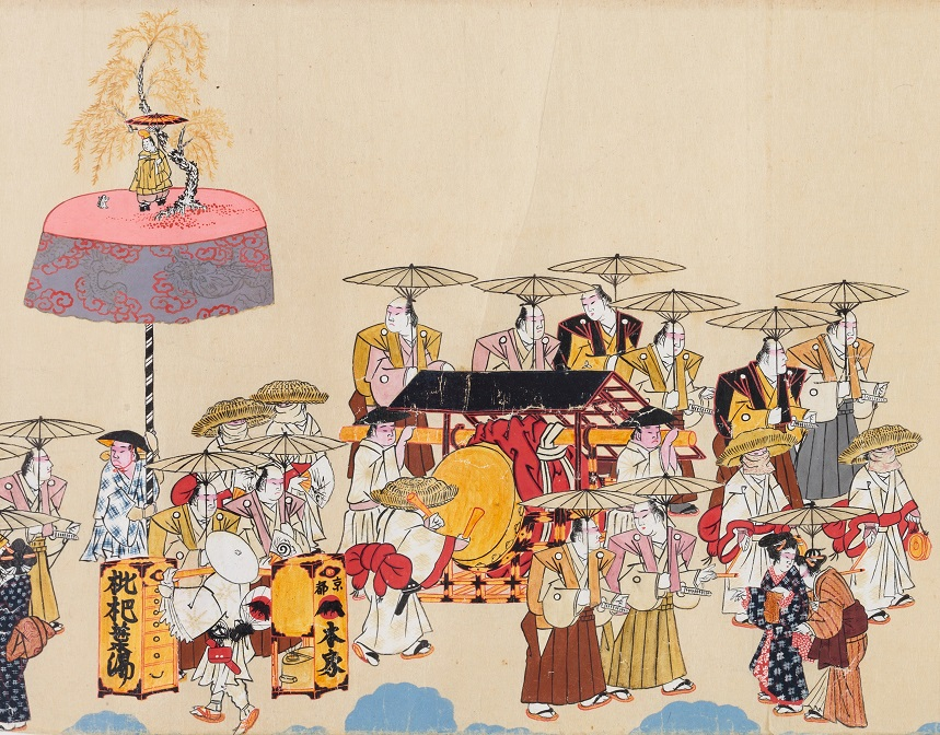 小浜祇園祭礼図(広嶺神社蔵)