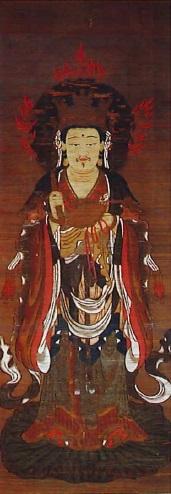 十二天像(帝釈天像・羽賀寺蔵)