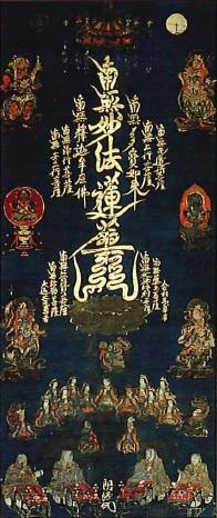 十界勧請大曼荼羅図(本境寺蔵)