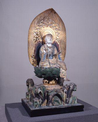 地蔵菩薩半跏像(上根来地蔵堂)