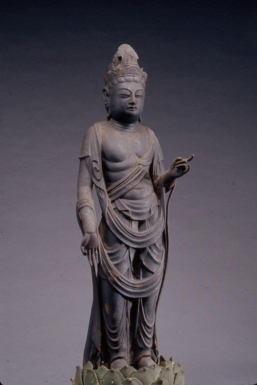 観音菩薩立像(青蓮寺蔵)