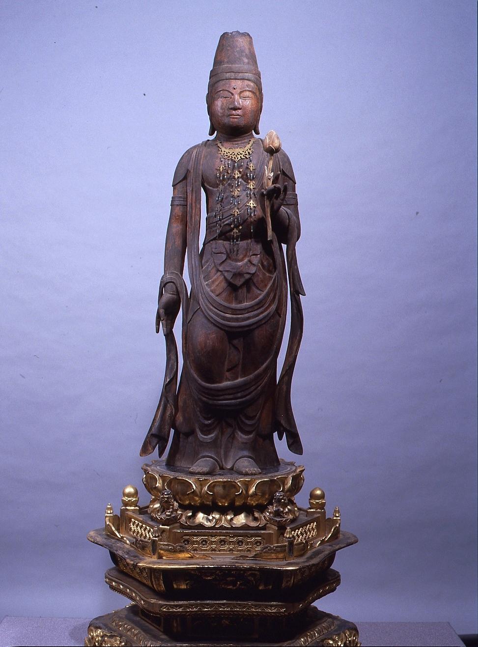 松福寺 木造聖観音菩薩立像